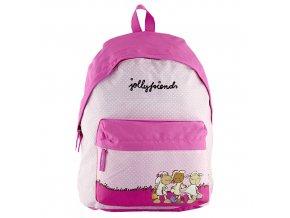 NICI dětský batoh Joly Friends růžový s puntíky
