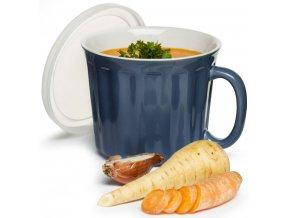 Sagaform - hrnek na polévku Soup Mug 0,5l modrý