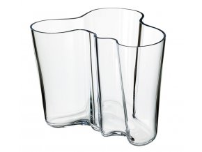Iittala - váza Alvar Aalto 160 mm čirá