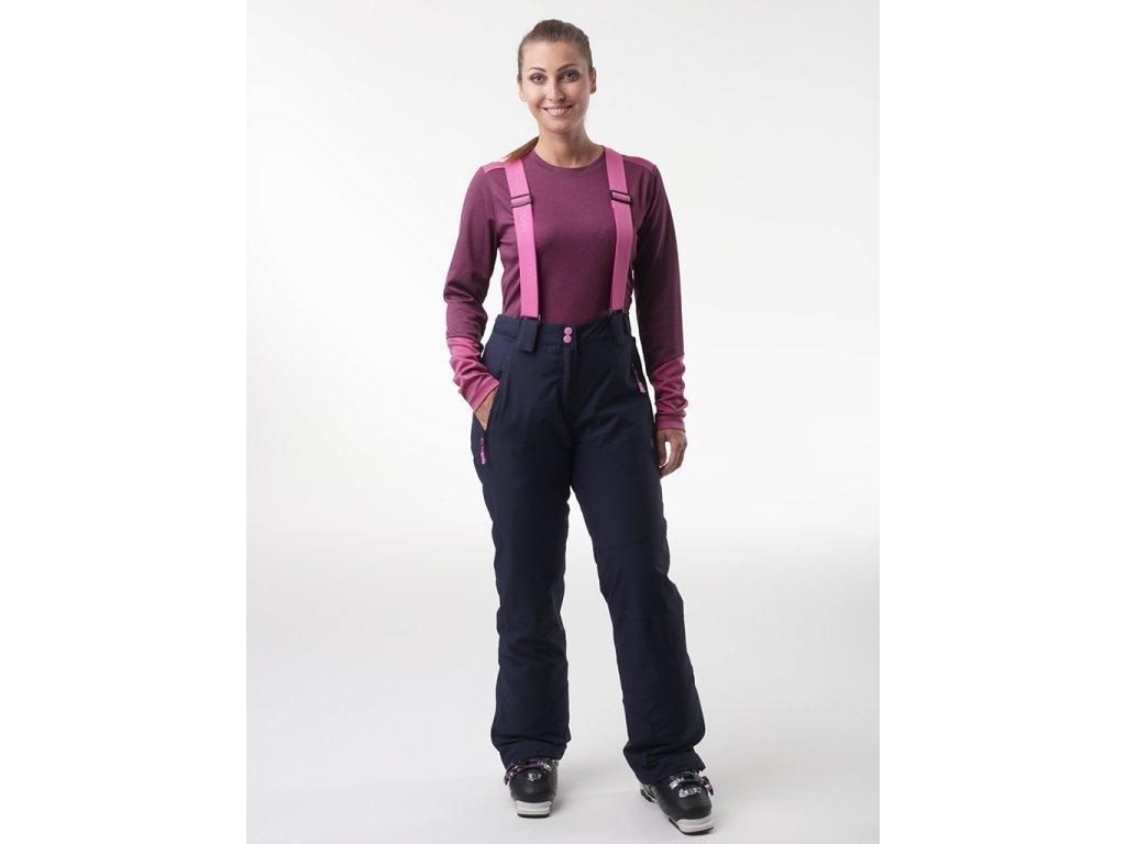 28526 loap flair damske lyzarske kalhoty modra olw2017m37m