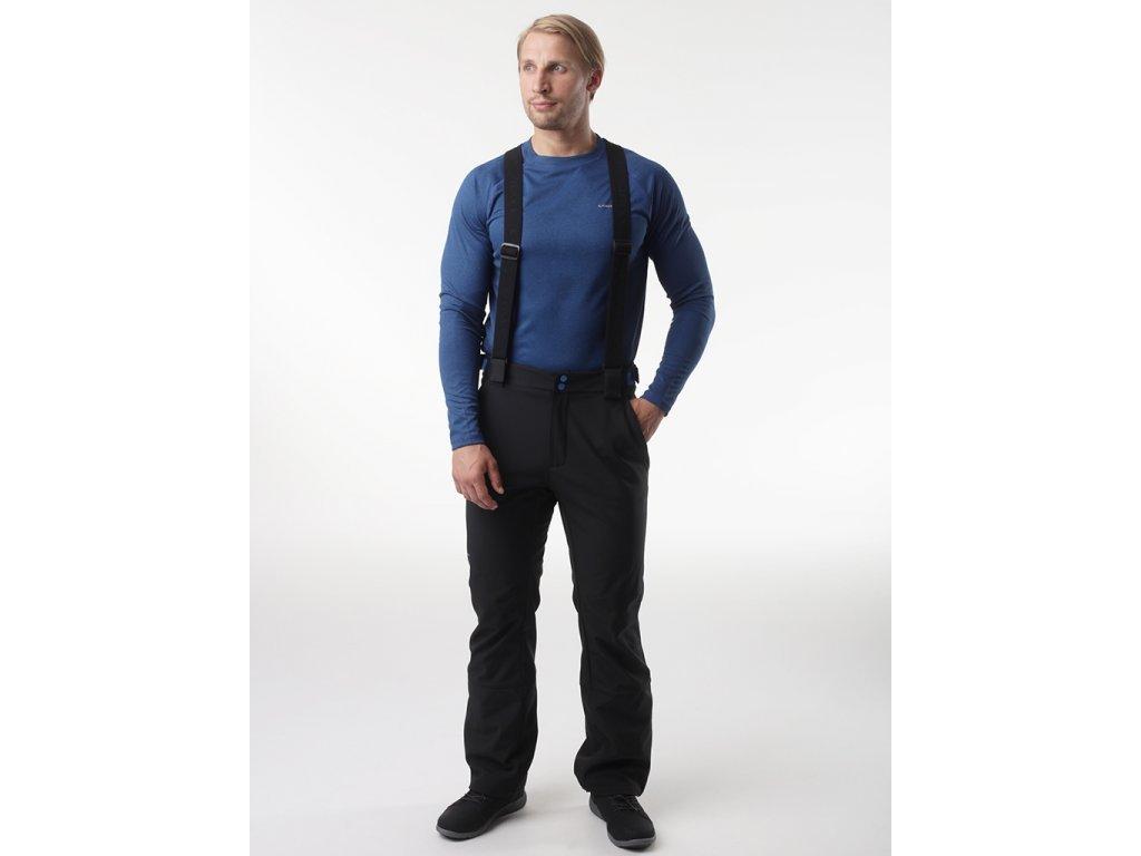 28601 loap lyus panske softshell kalhoty cerna modra sfm2016v24m