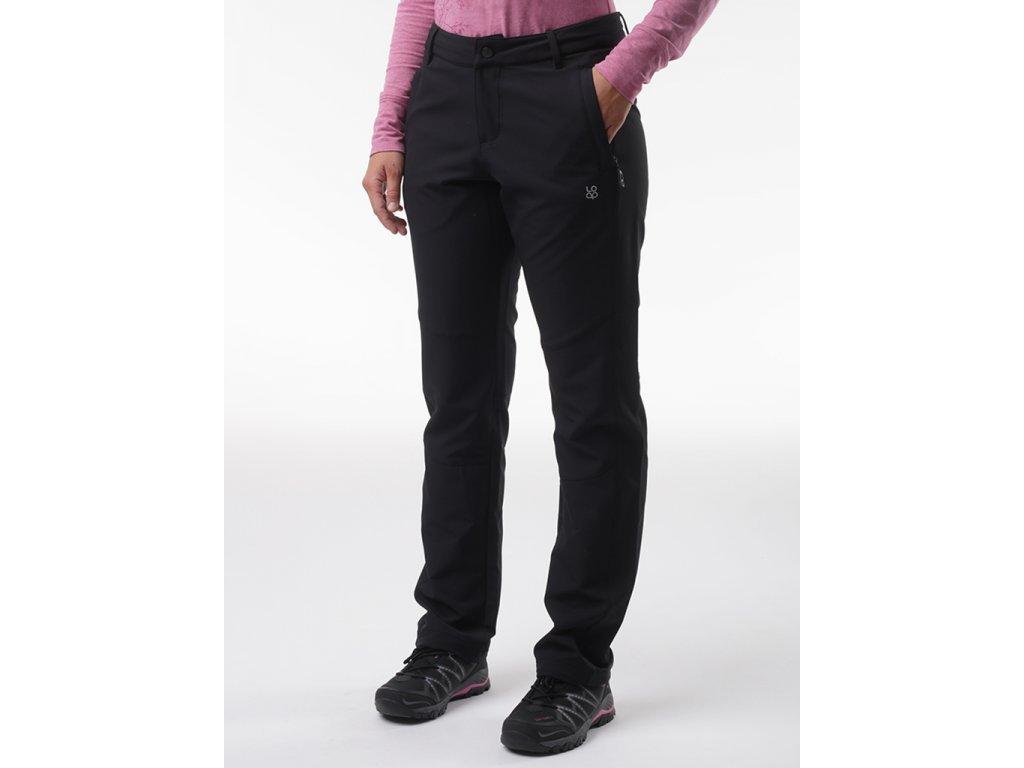 27953 loap urosa damske softshell kalhoty cerna sfw2032v24v
