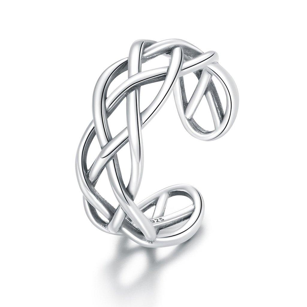 Dámsky strieborný prsteň DEVONE 1