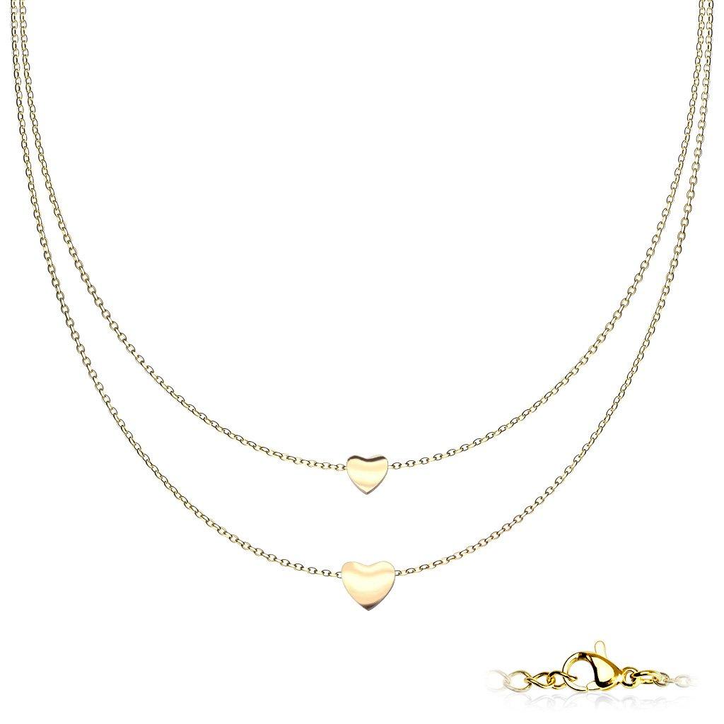 Dámsky náhrdelník z chirurgickej ocele ANNA 1