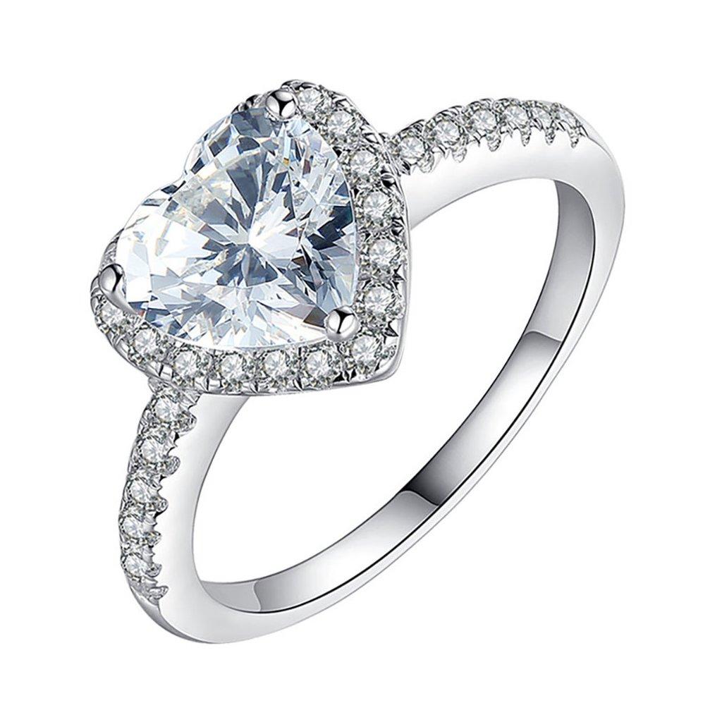 Dámsky strieborný prsteň ELINA 1