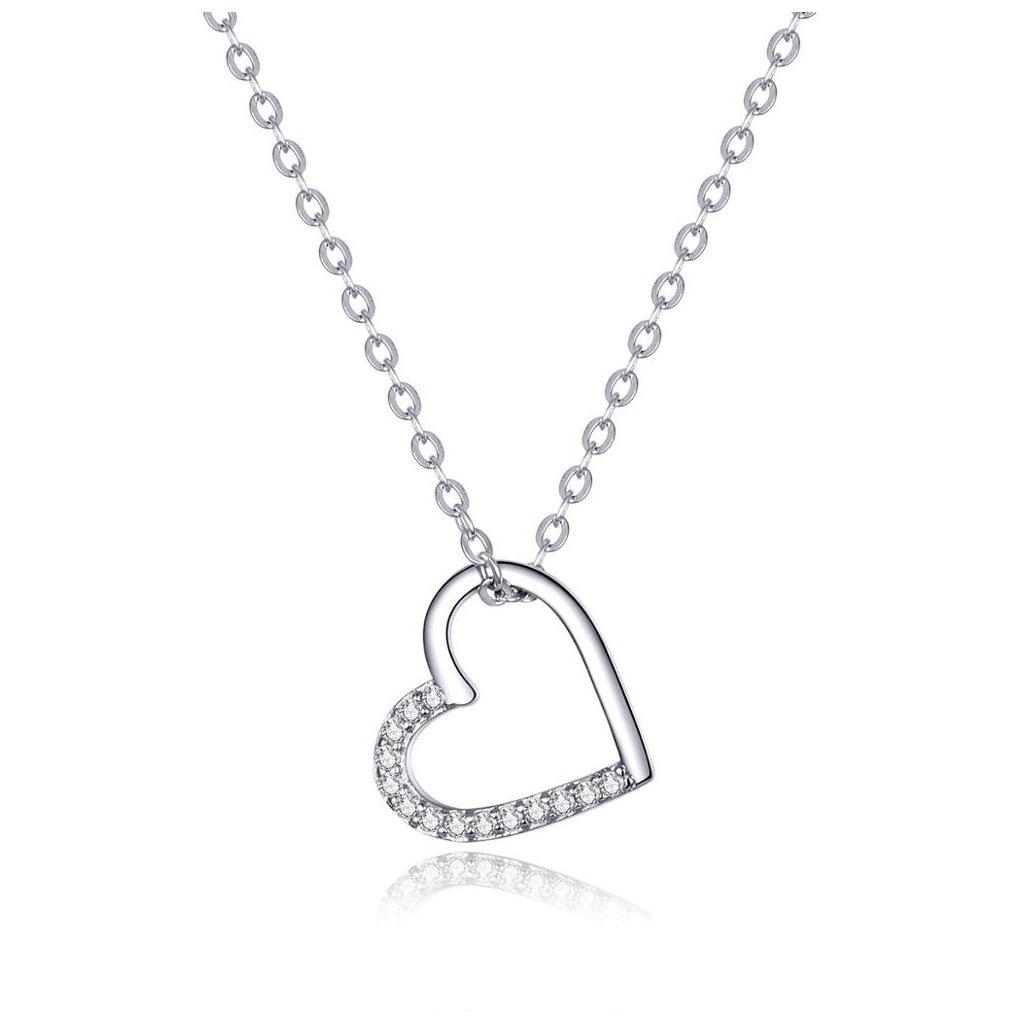 Dámsky strieborný náhrdelník TALIYAH 1