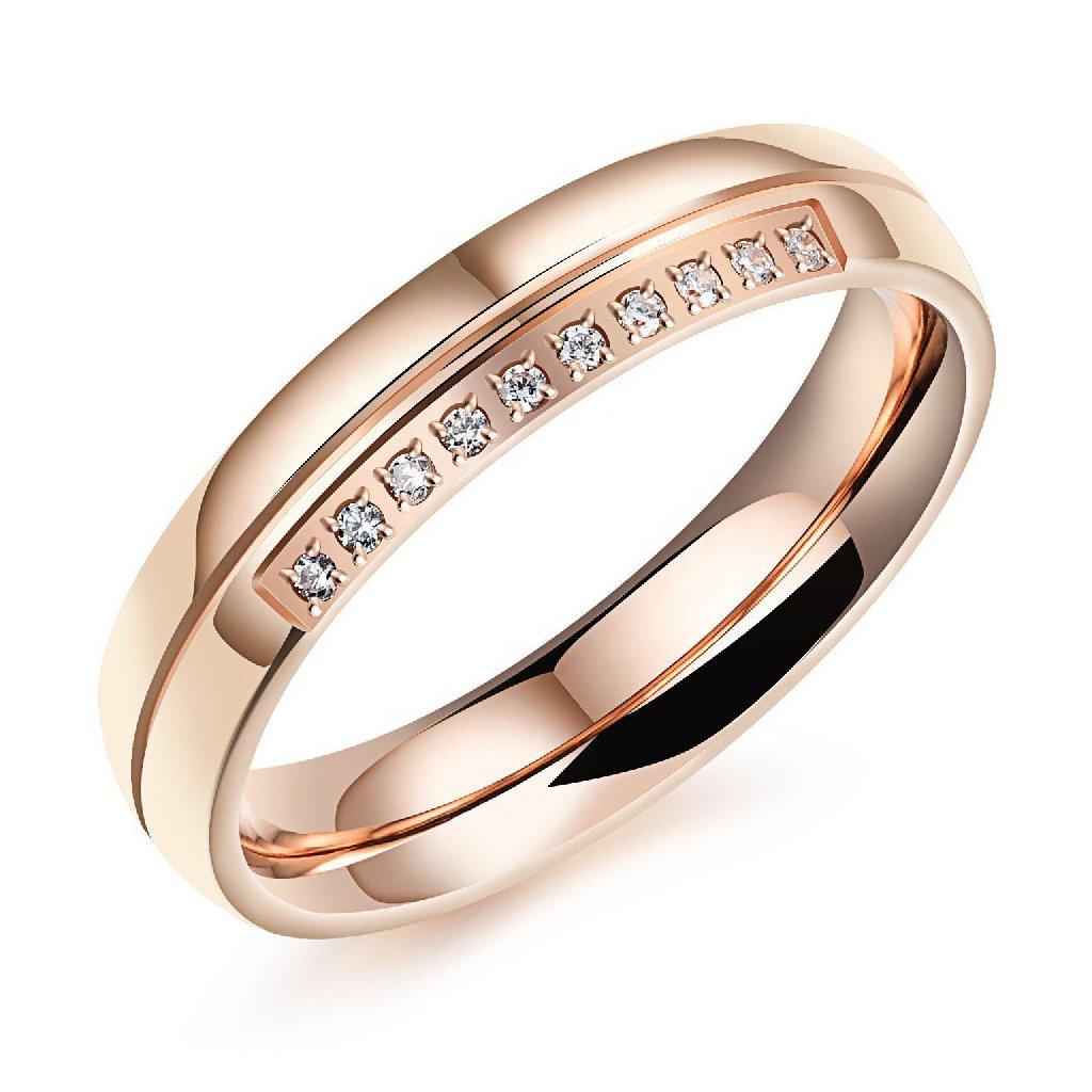 Dámsky prsteň z chirurgickej ocele EMILIA 1