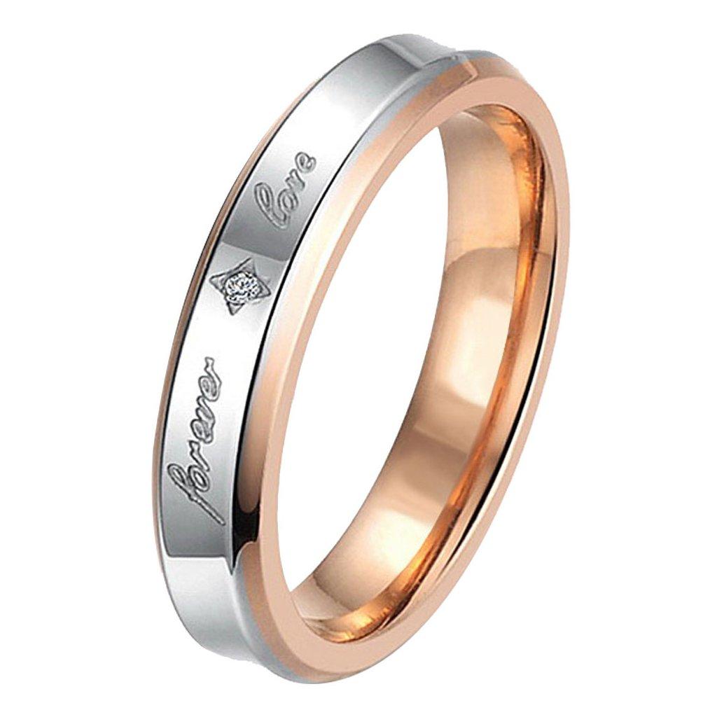 Dámsky prsteň z chirurgickej ocele HAILEY 1