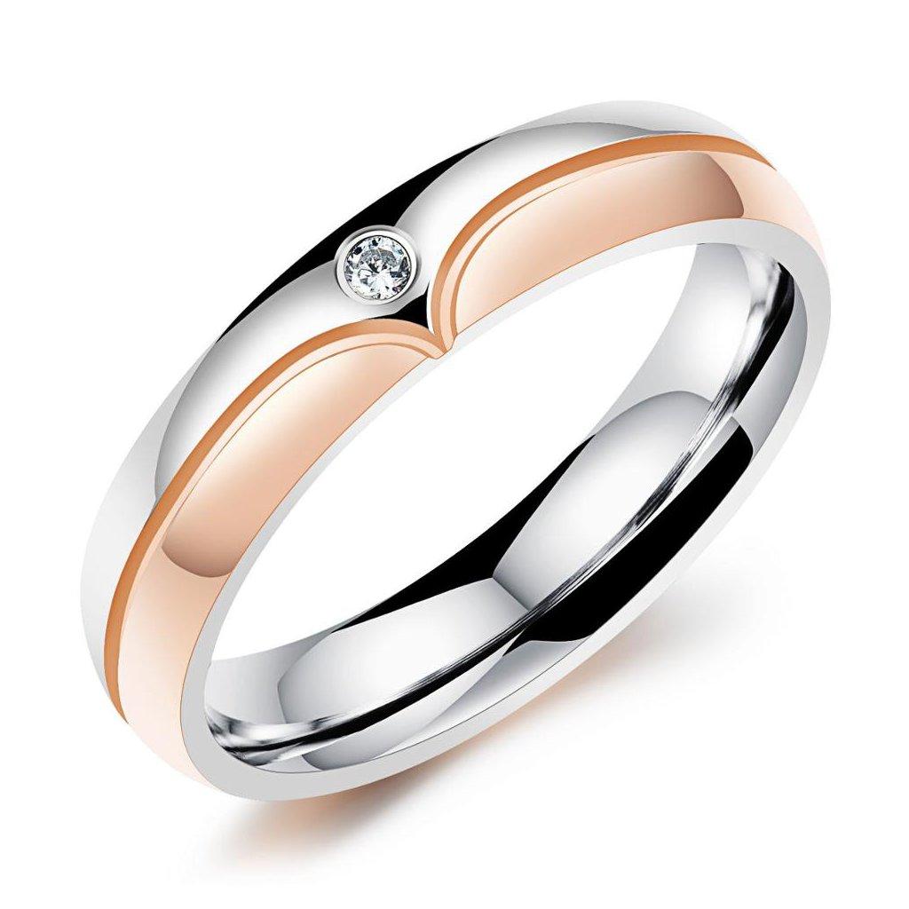 Dámsky prsteň z chirurgickej ocele KINSLEY 1