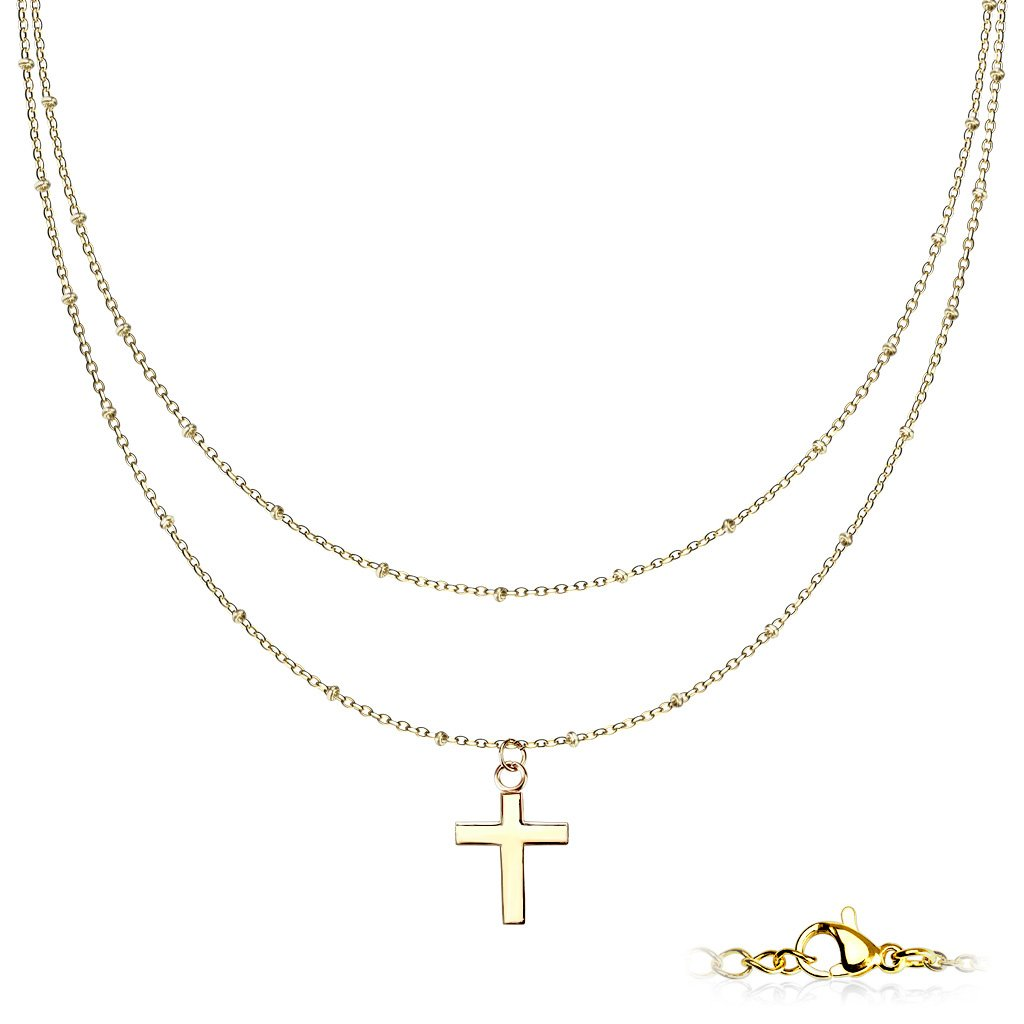 Dámsky náhrdelník z chirurgickej ocele BRITTANY 1