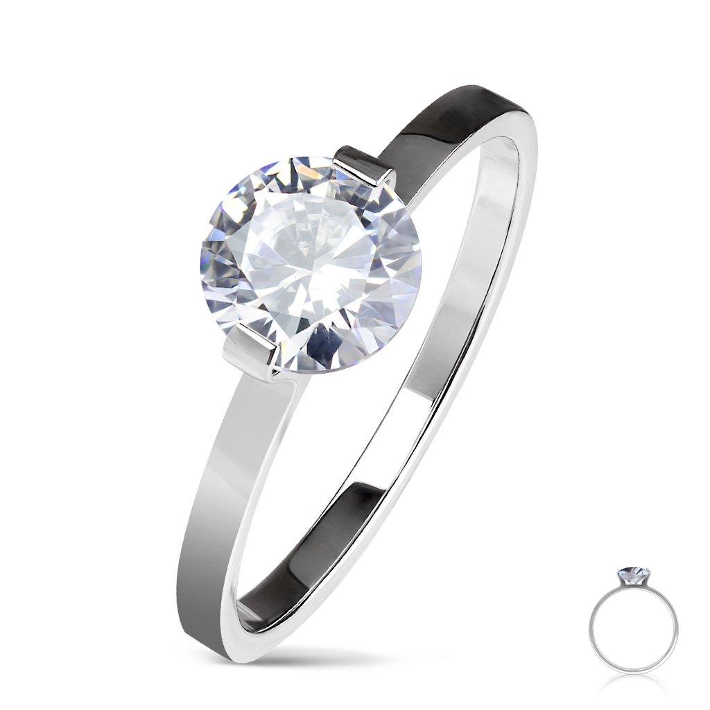Dámsky prsteň z chirurgickej ocele DIOR 1