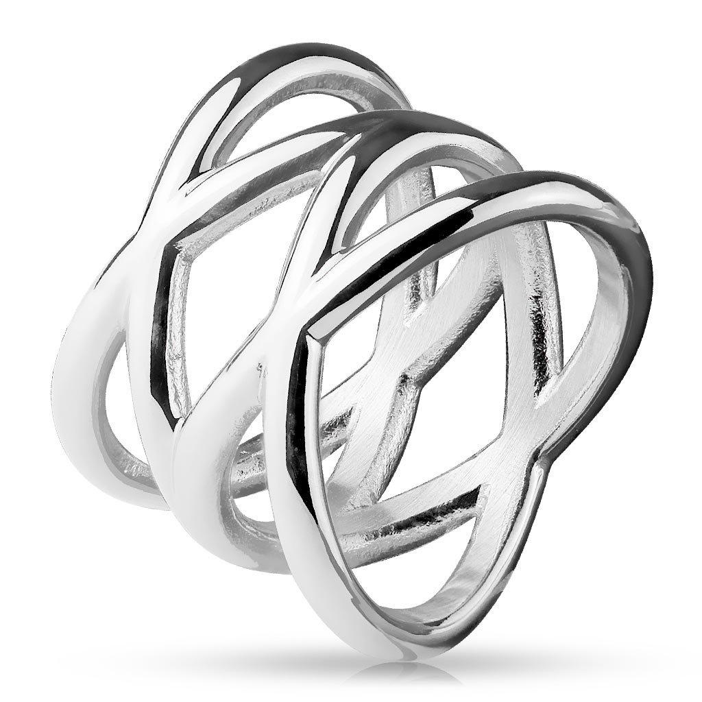 Dámsky prsteň z chirurgickej ocele GWENDOLYN 1