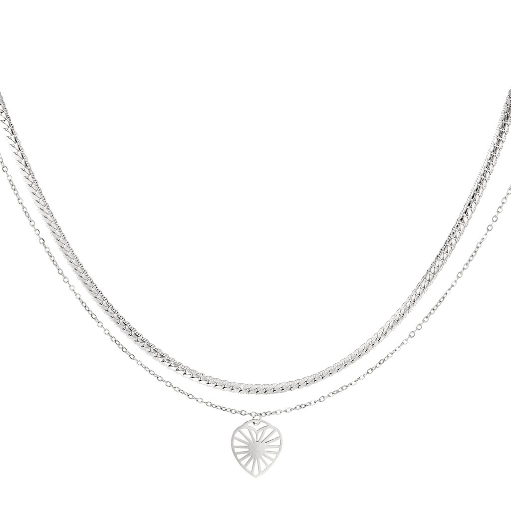Dámsky náhrdelník z chirurgickej ocele BRYLEE 1