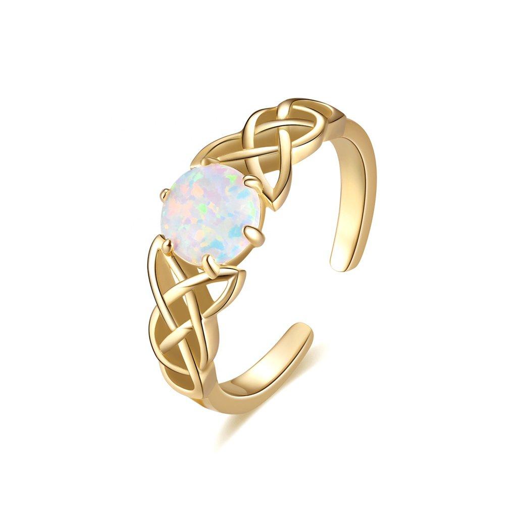 Dámsky strieborný prsteň ZAYNAH 1