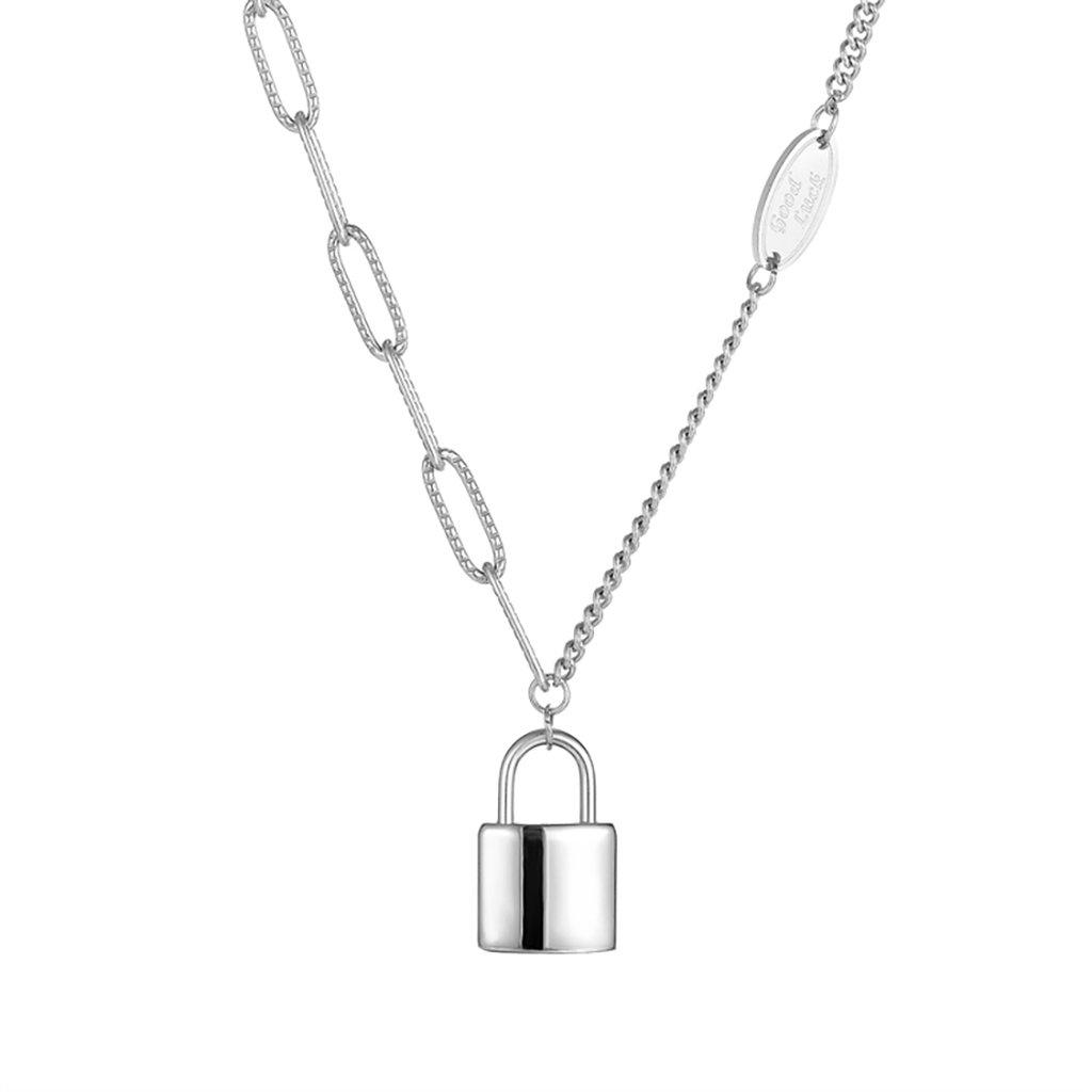 Dámsky náhrdelník z chirurgickej ocele SECRET 1