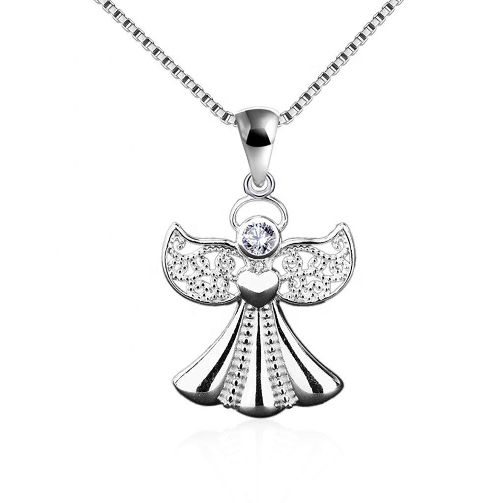 Dámsky strieborný náhrdelník ANGELINE 1