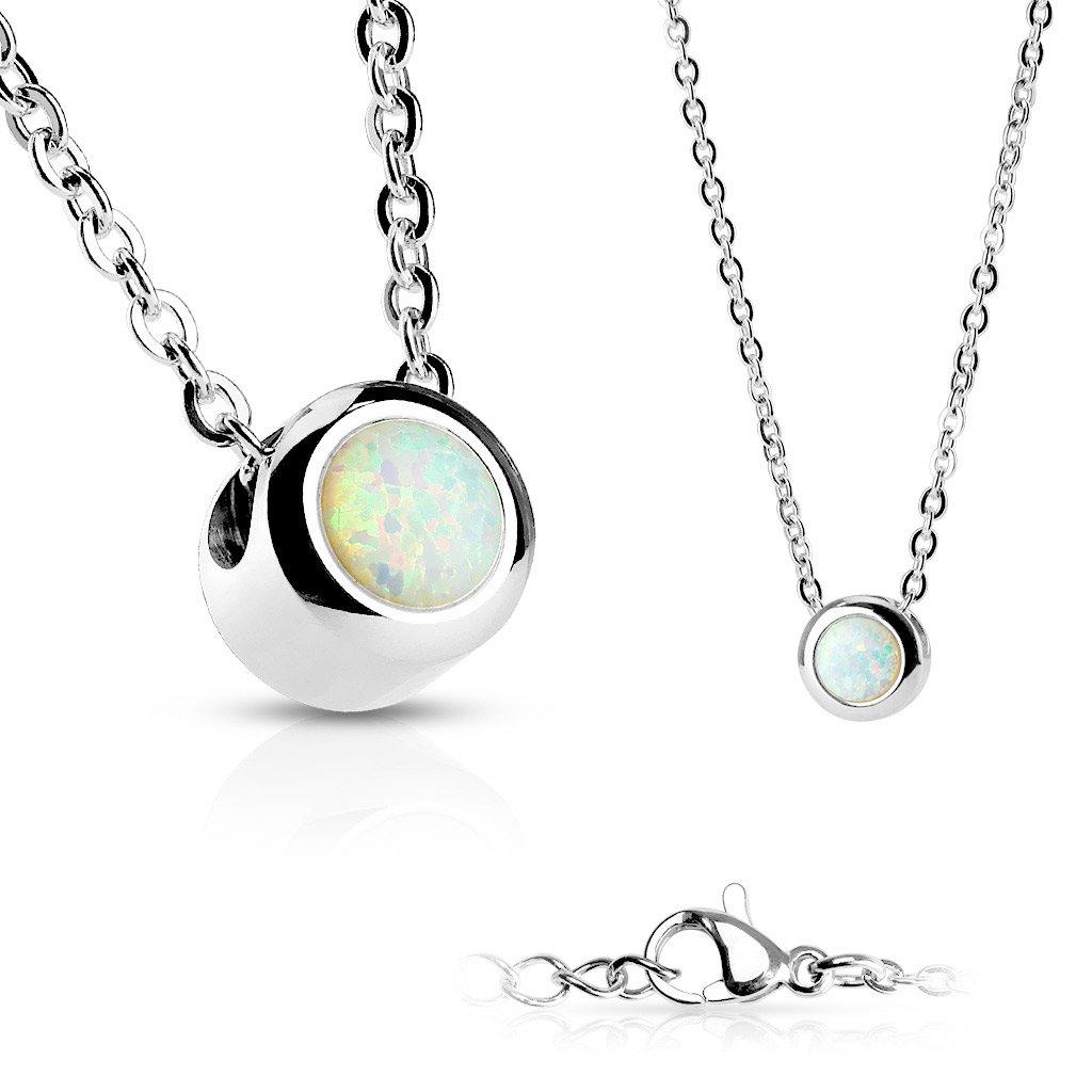Dámsky náhrdelník z chirurgickej ocele MIRIAM 1