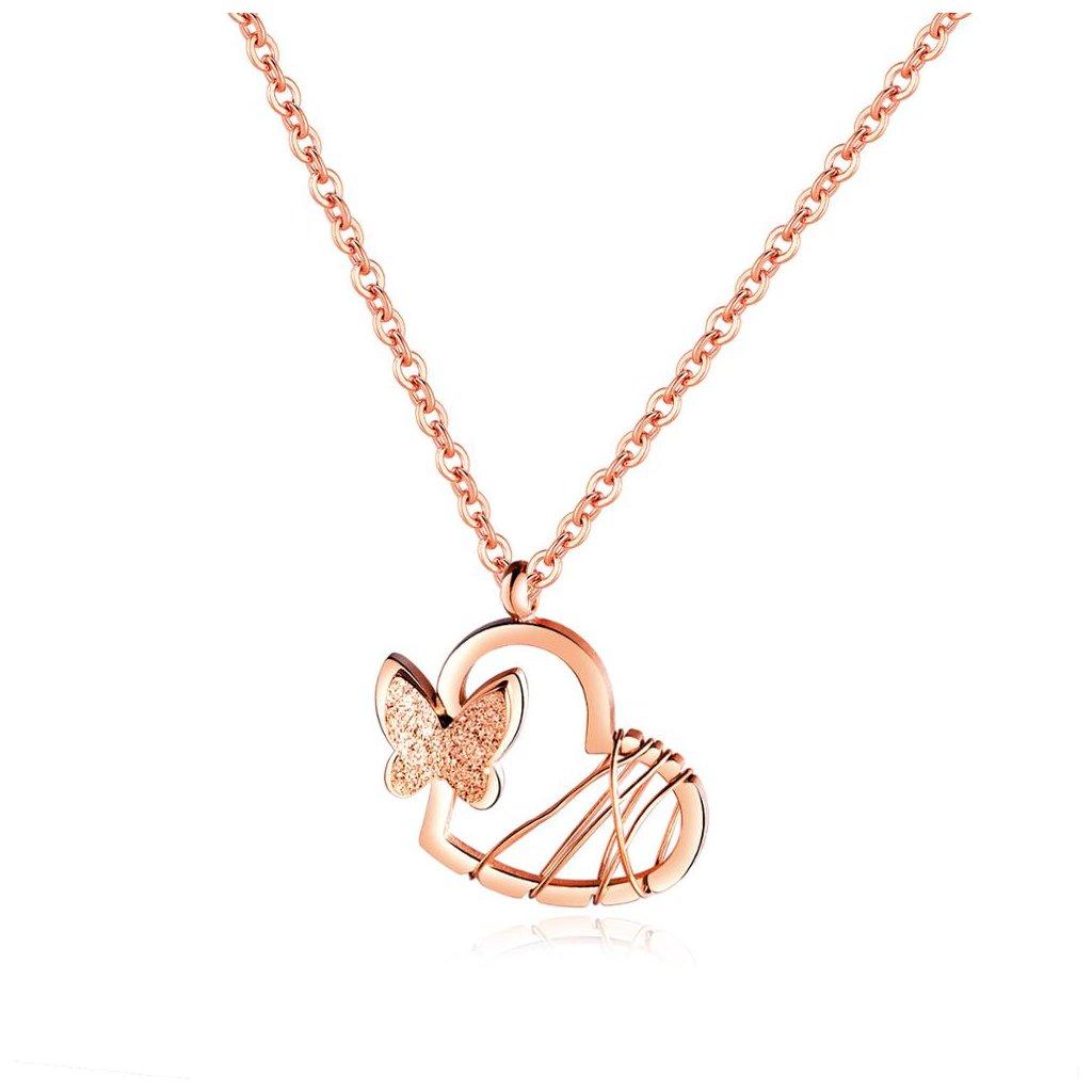 Dámsky náhrdelník z chirurgickej ocele BELLA 1