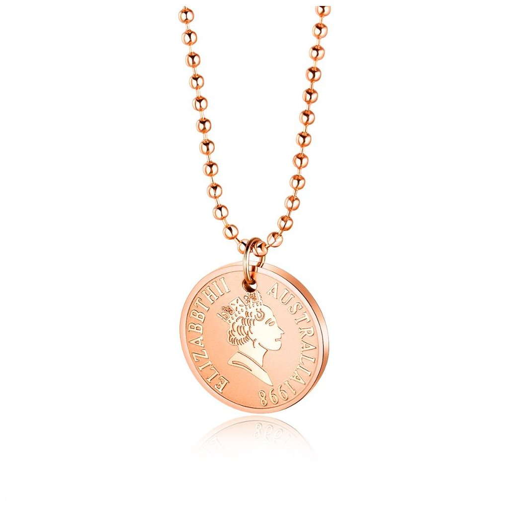 Dámsky náhrdelník z chirurgickej ocele QUEEN 1