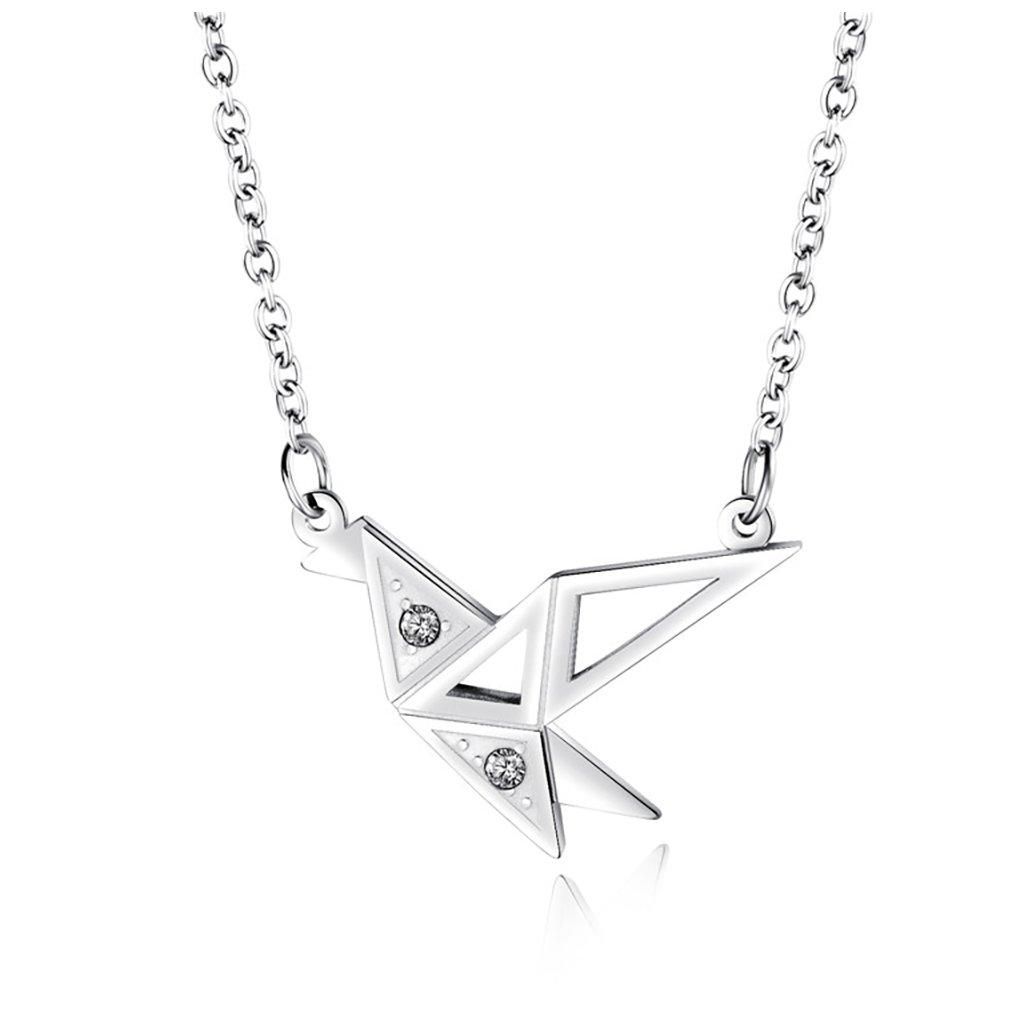 Dámsky náhrdelník z chirurgickej ocele BIRDIE 1