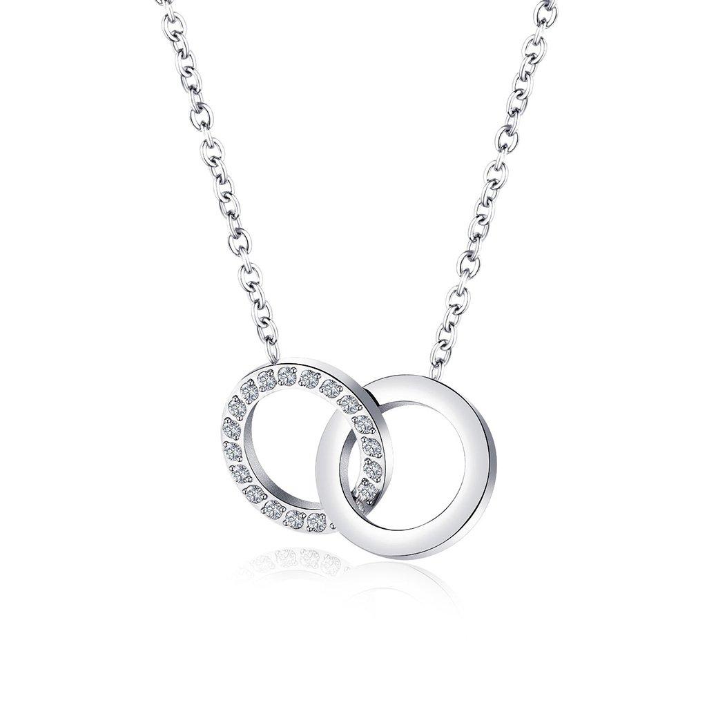 Dámsky náhrdelník z chirurgickej ocele MIA 1