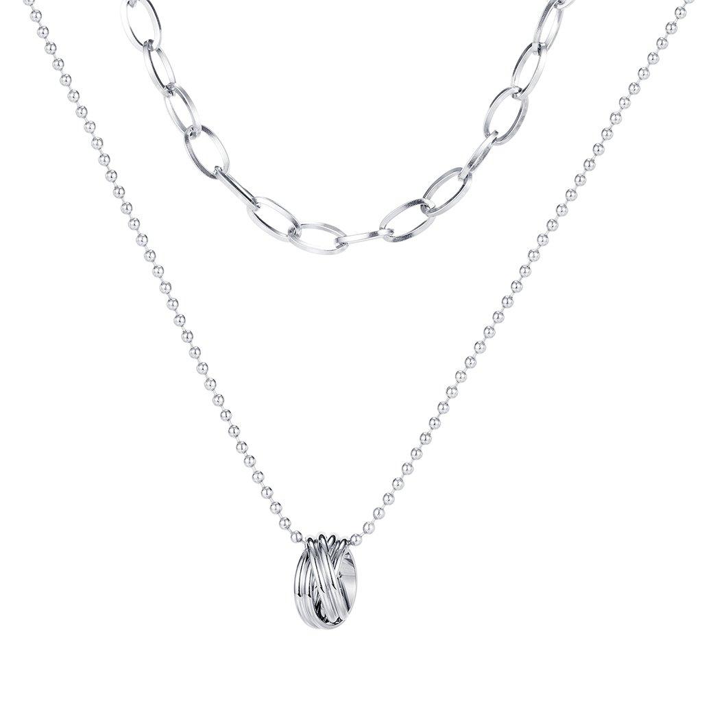 Dámsky náhrdelník z chirurgickej ocele BRIELLE 1