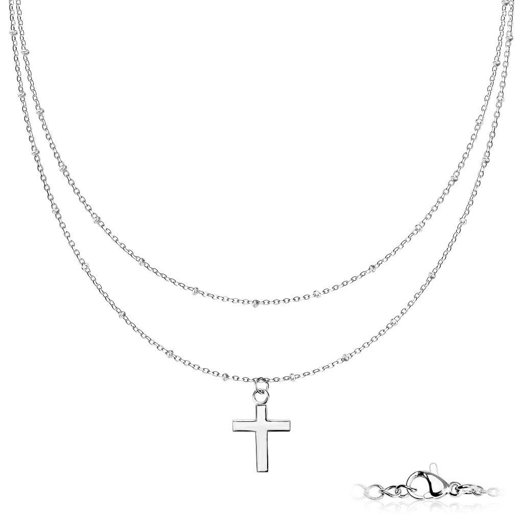 Dámsky náhrdelník z chirurgickej ocele CYNTIA 1