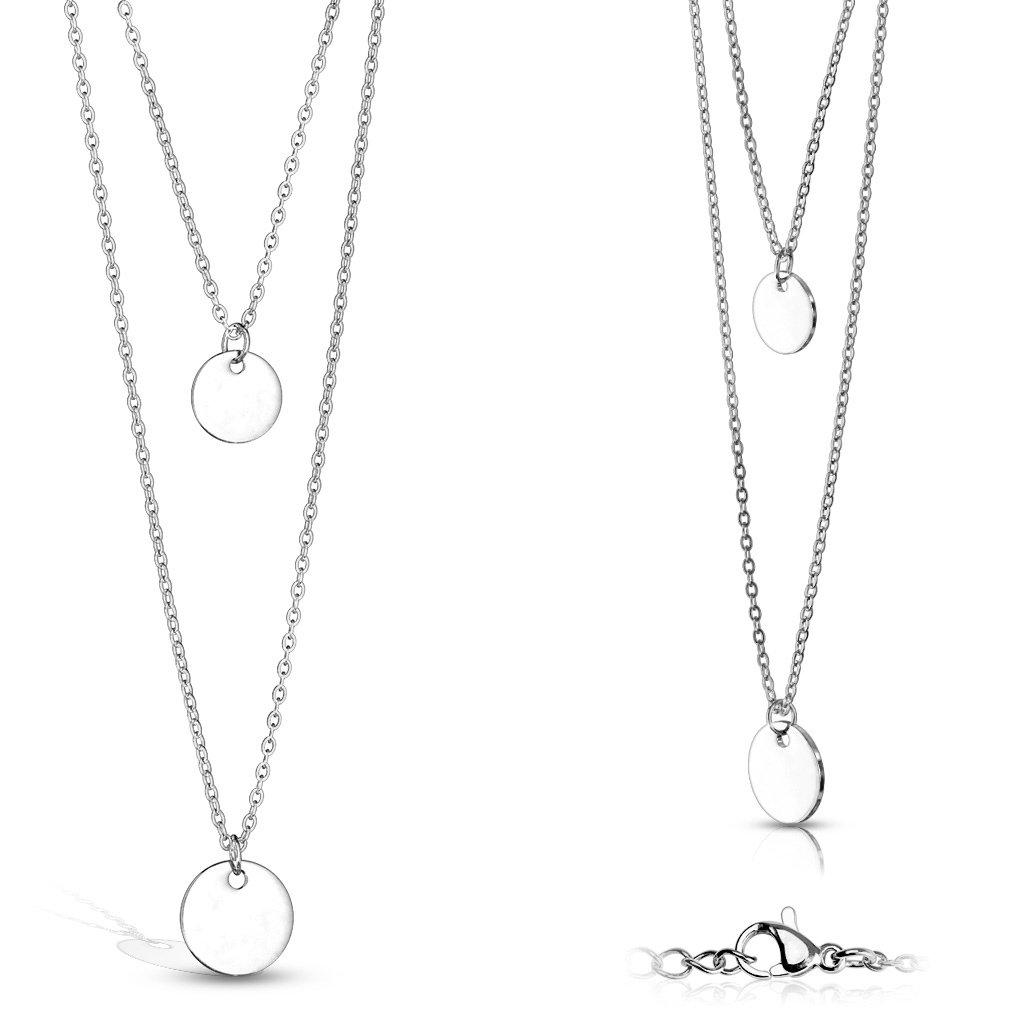 Dámsky náhrdelník z chirurgickej ocele RILEY 1