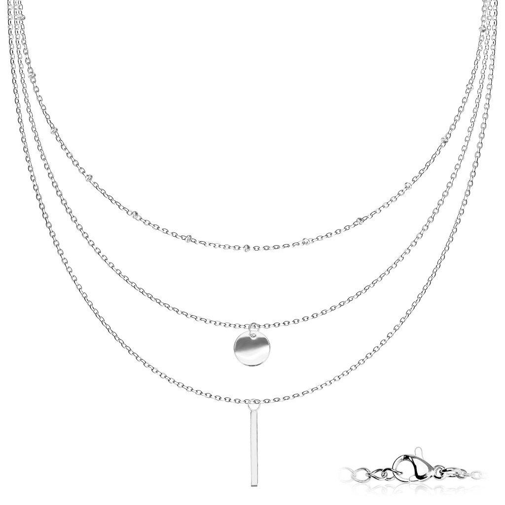 Dámsky náhrdelník z chirurgickej ocele CINDY 1