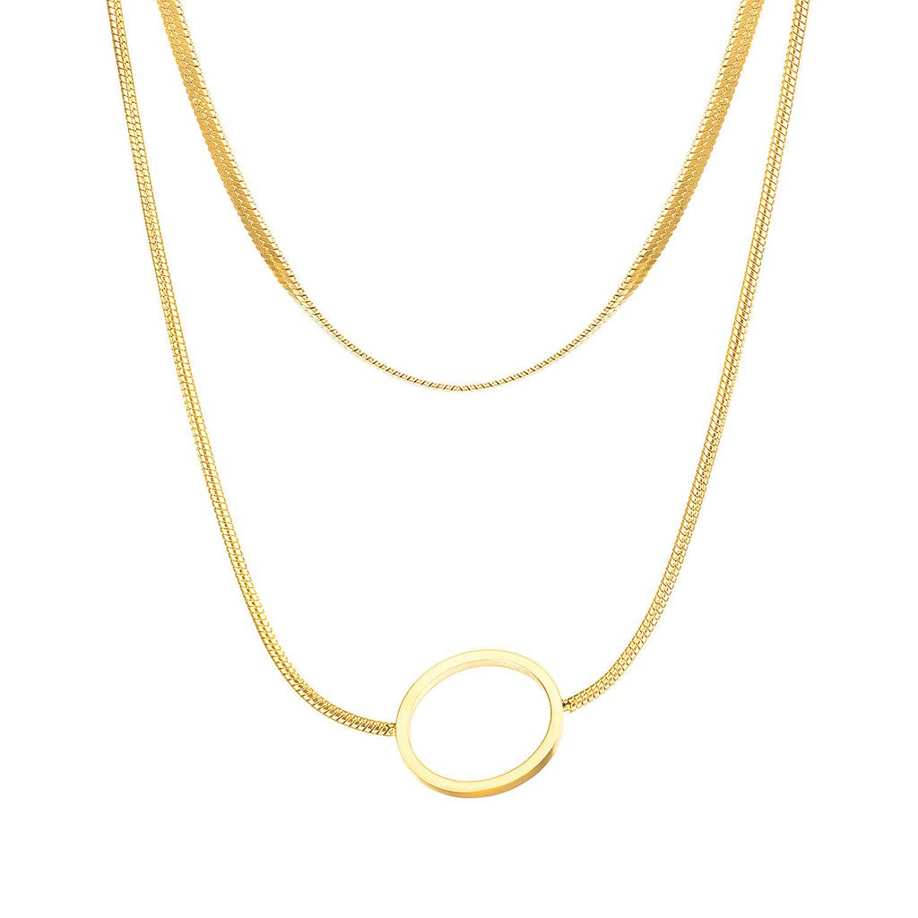 Dámsky náhrdelník z chirurgickej ocele RUBY 1