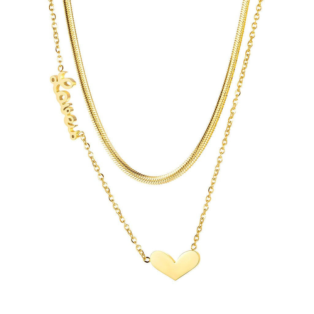 Dámsky náhrdelník z chirurgickej ocele PIPER 1