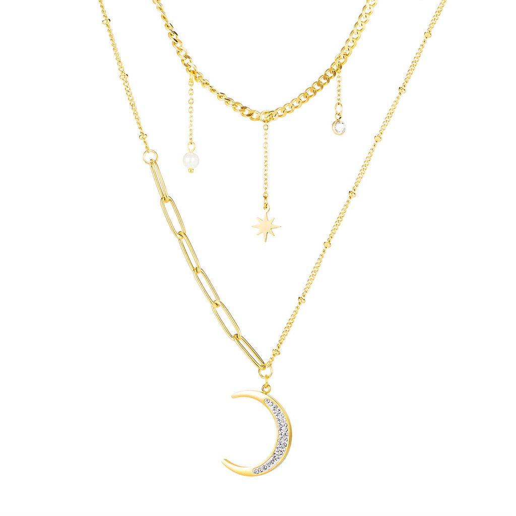 Dámsky náhrdelník z chirurgickej ocele HEIDI 1