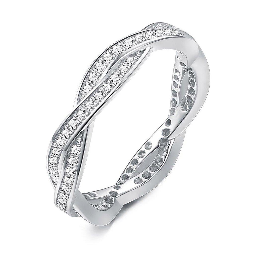 Dámsky strieborný prsteň ELLISON 1