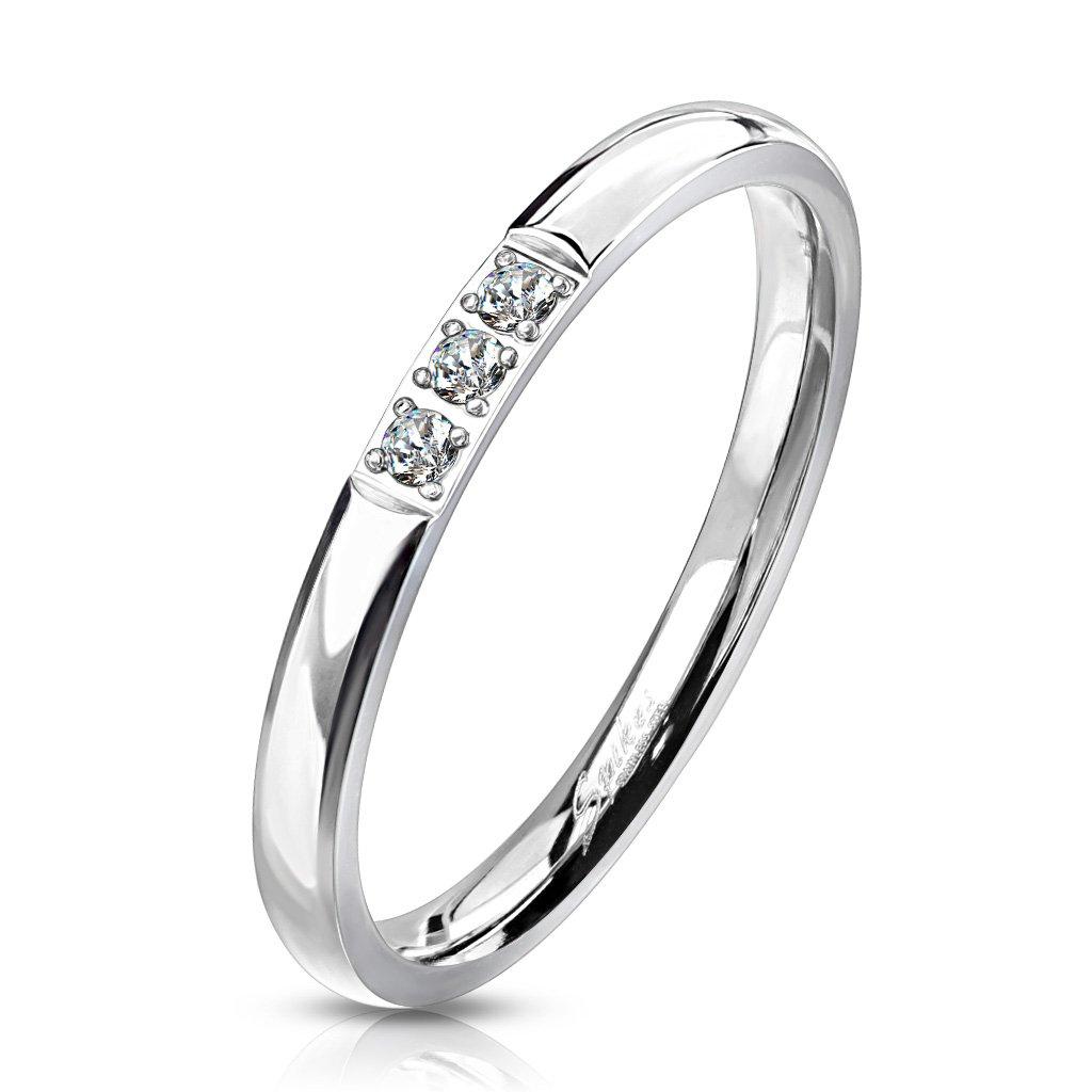 Dámsky prsteň z chirurgickej ocele ALEXIS