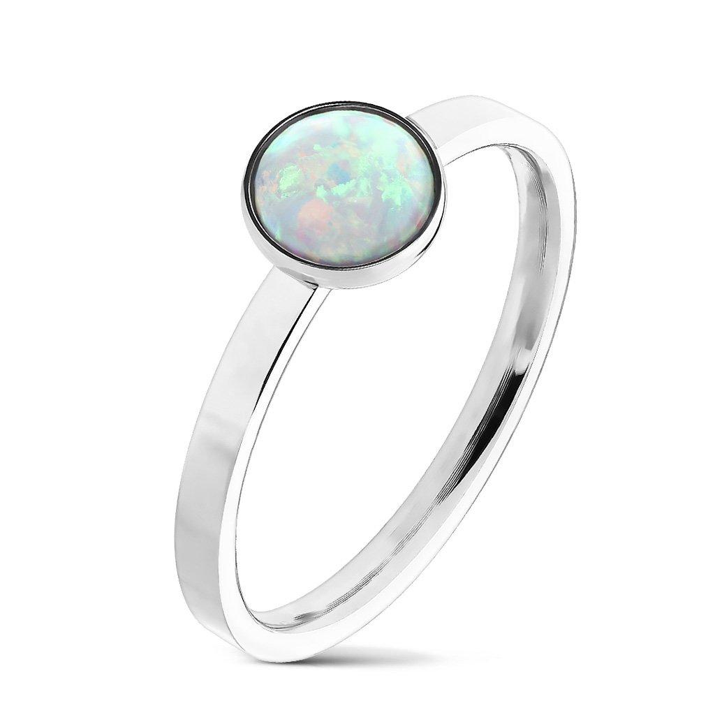 Dámsky prsteň z chirurgickej ocele CRYSTAL 1