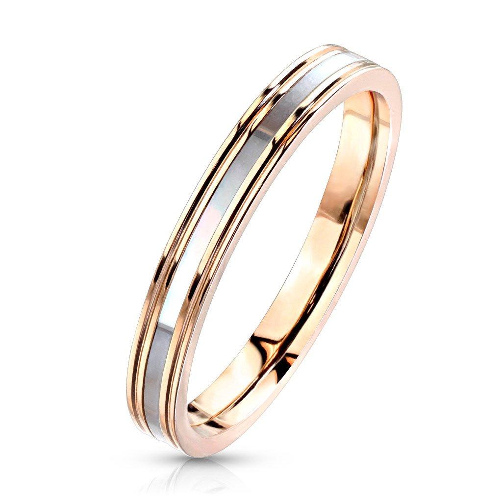 Dámsky prsteň z chirurgickej ocele DIANA 1