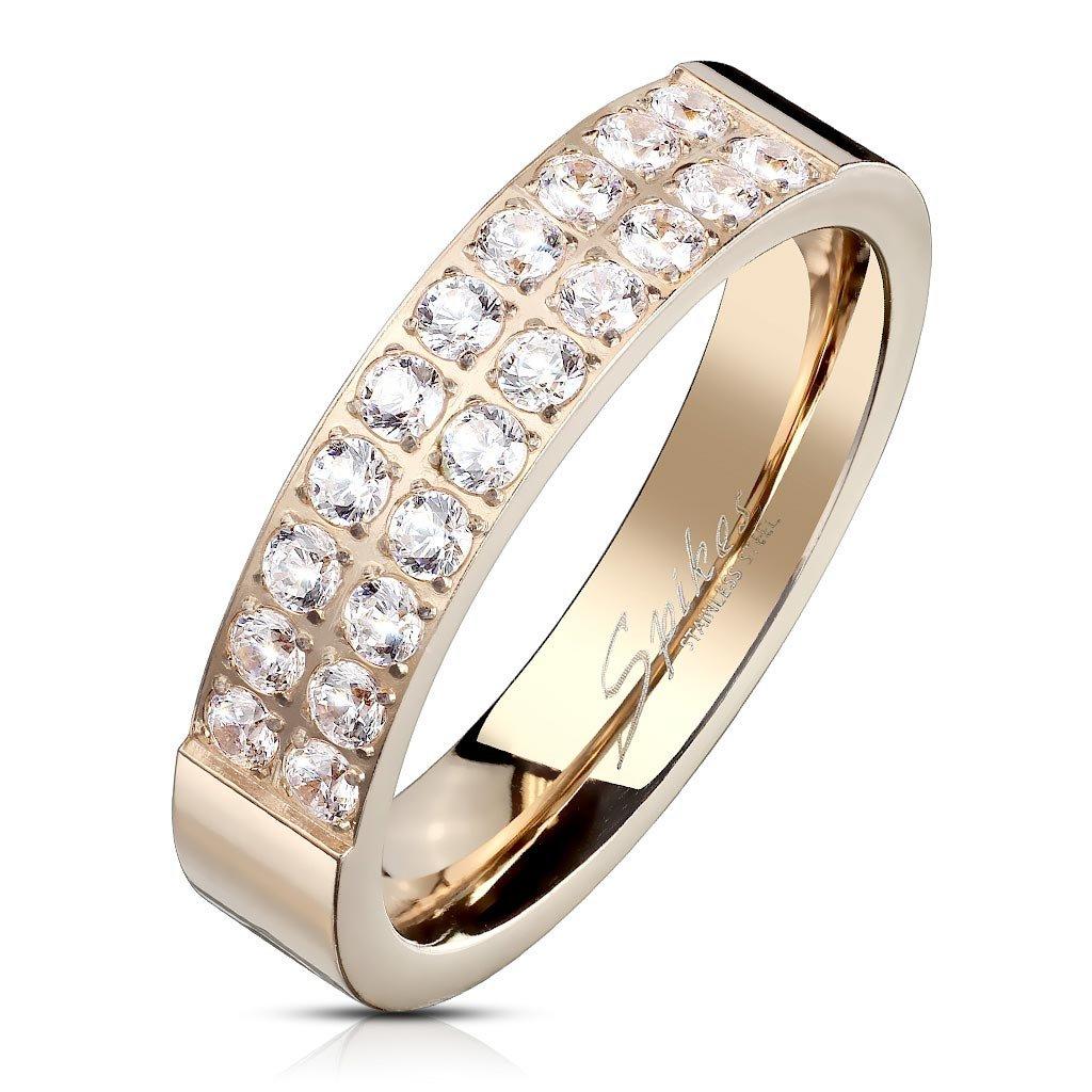 Dámsky prsteň z chirurgickej ocele EMMA 1