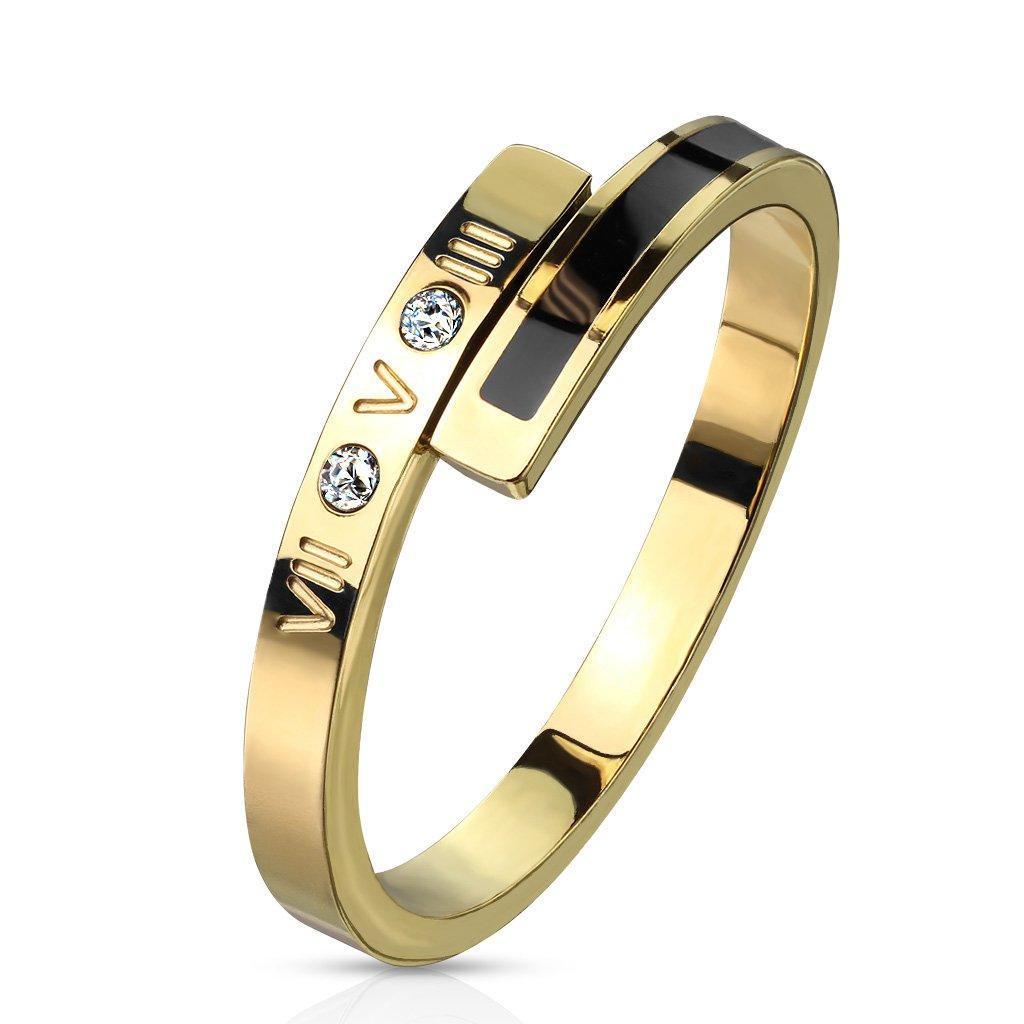 Dámsky prsteň z chirurgickej ocele JOSÉPHINE 1