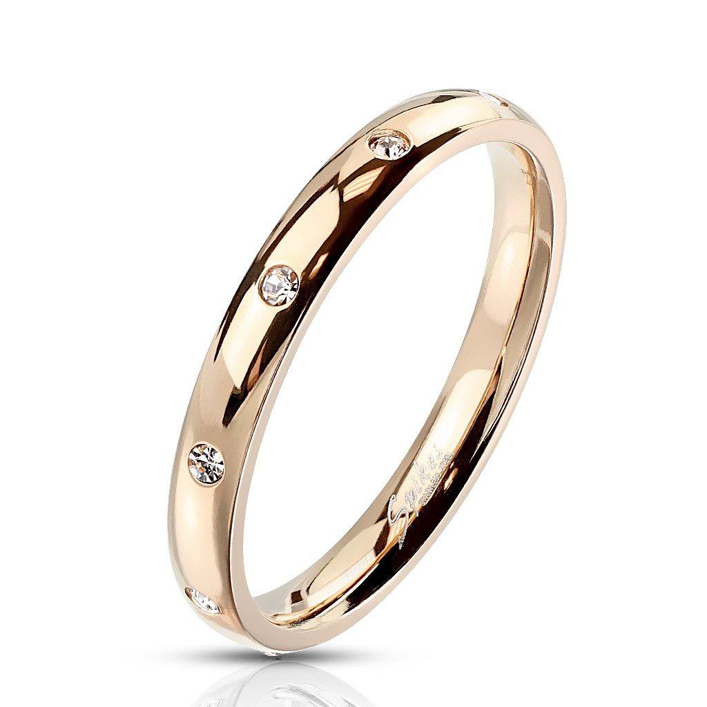 Dámsky prsteň z chirurgickej ocele VALENTINA 1