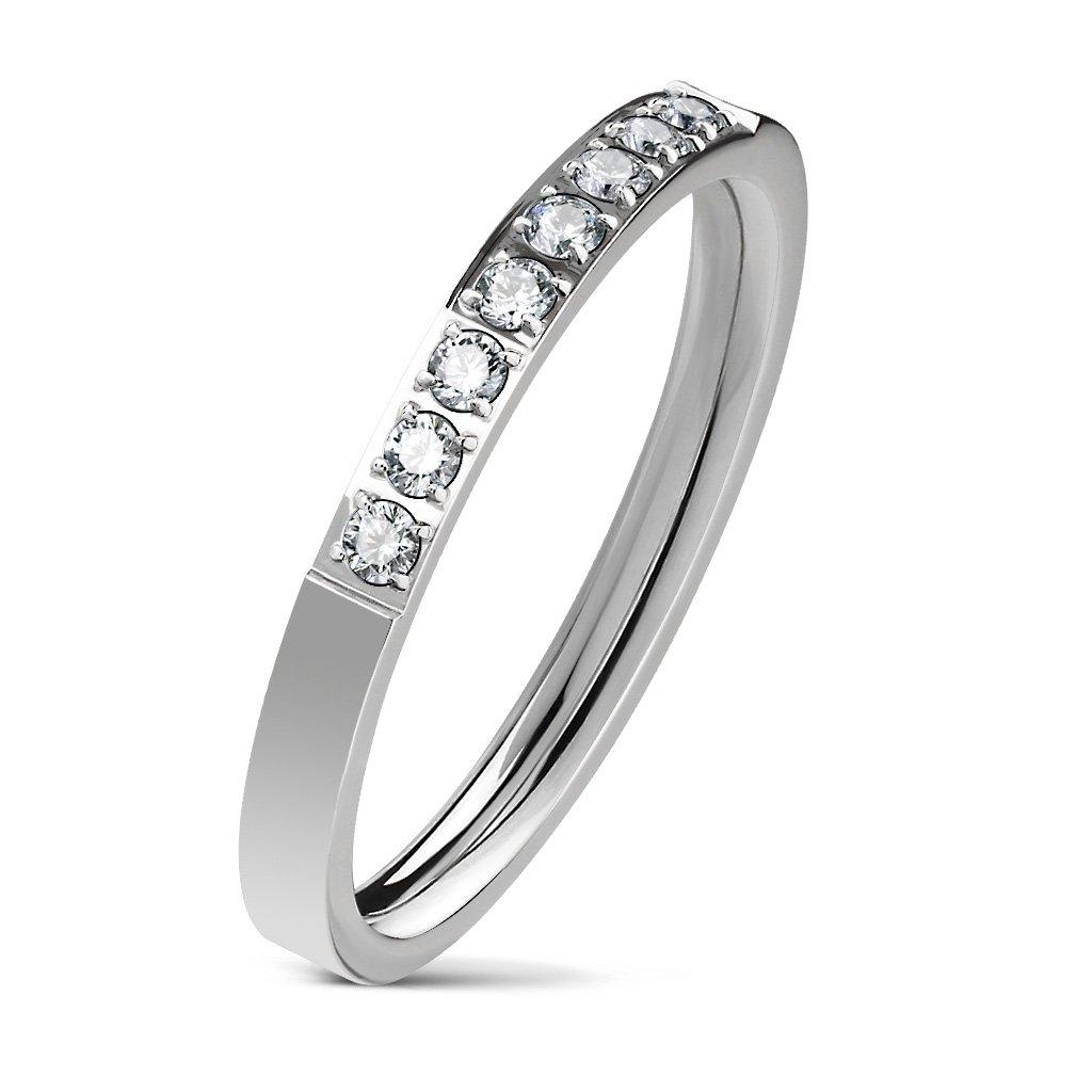 Dámsky prsteň z chirurgickej ocele VICTORIA 1