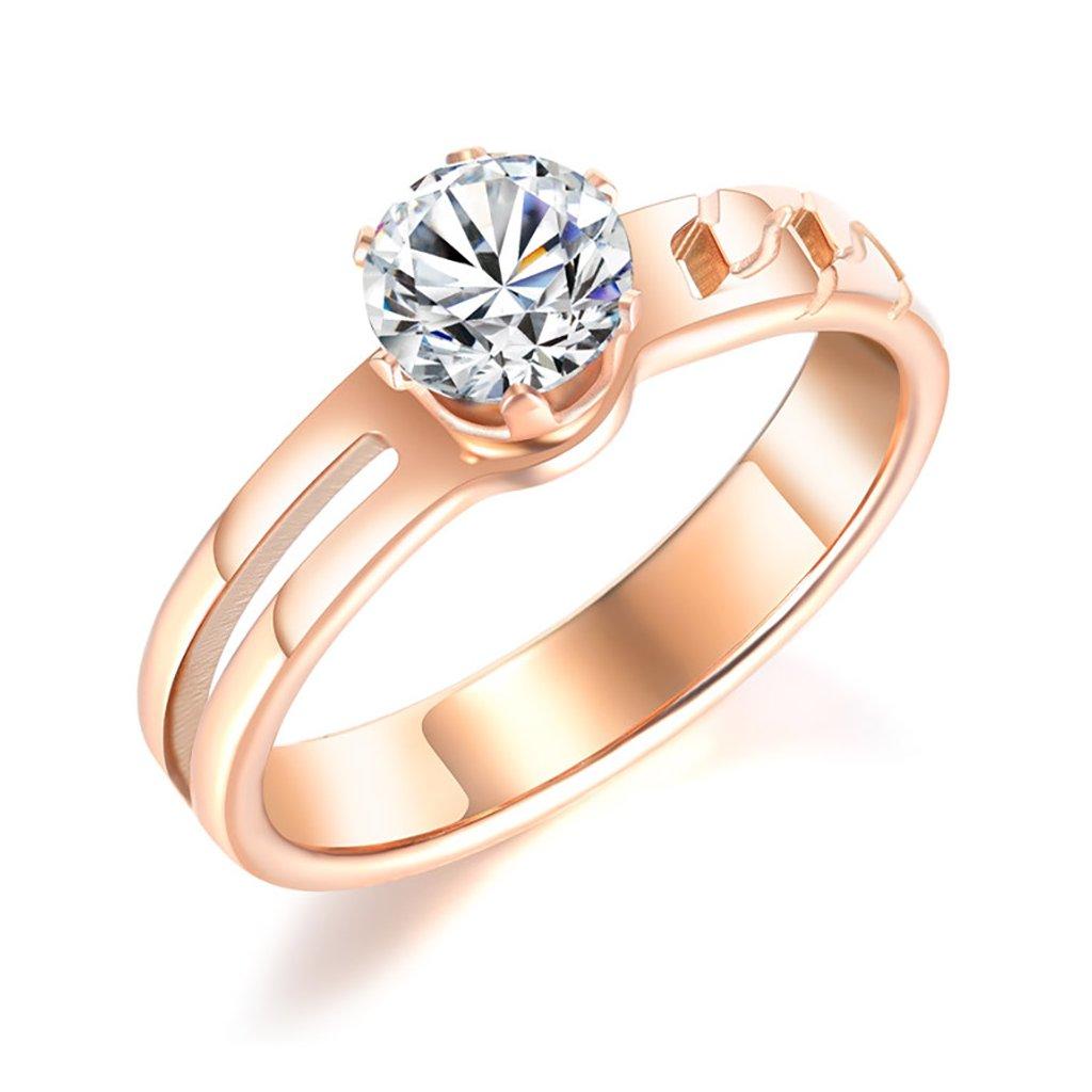 Dámsky prsteň z chirurgickej ocele ELEANOR 1