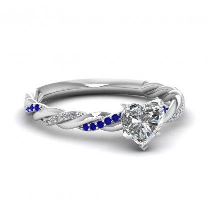 Dámsky strieborný prsteň DENISE 1