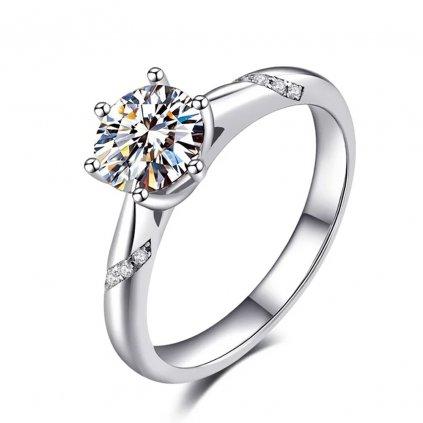 Dámsky strieborný prsteň ALICE 1