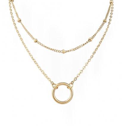 Dámsky náhrdelník z chirurgickej ocele ESTHER 1
