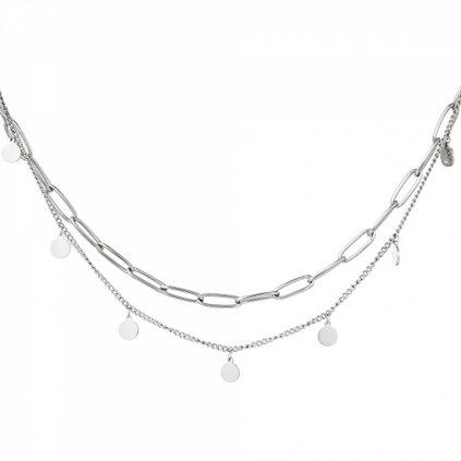 Dámsky náhrdelník z chirurgickej ocele GEORGIA 1