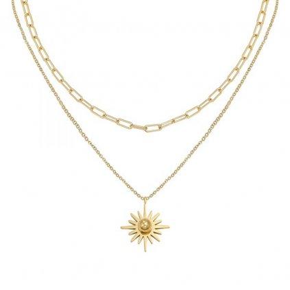 Dámsky náhrdelník z chirurgickej ocele WINNIE 1