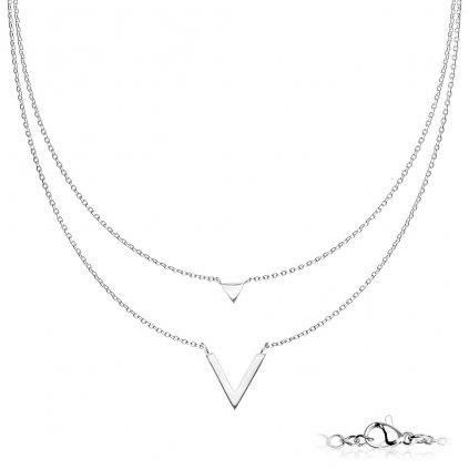 Dámsky náhrdelník z chirurgickej ocele NADIA 1