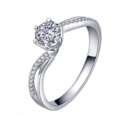 Dámsky strieborný prsteň THAILIA 1