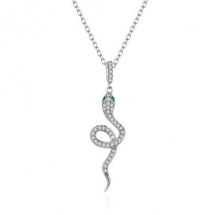 Dámsky strieborný náhrdelník SAWYER 1