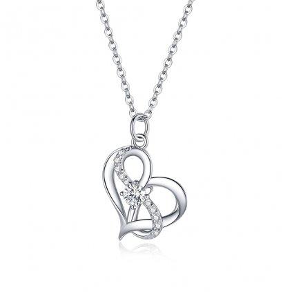 Dámsky strieborný náhrdelník ROSALEE 1